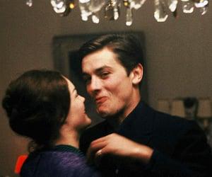 love, couple, and Alain Delon image