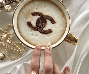 coffee, jewel, and golden image
