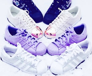 superstar, adidas, and sneakers image