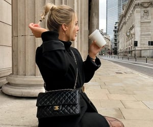 black, blonde, and chanel image