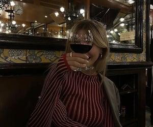 aesthetic, wine, and blazer image