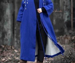 maternity clothing, large size coat, and v collar padded coat image