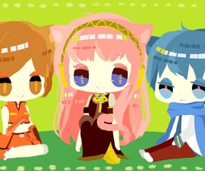 megurine luka, vocaloid, and meiko sakine image