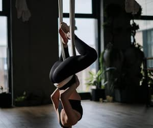 exercise, practice, and yoga image
