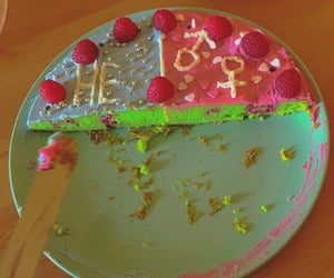 cake, colourful, and food image