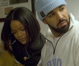 Drake, rihanna, and couple image