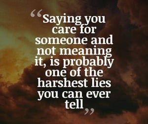breakup, hurt, and lies image