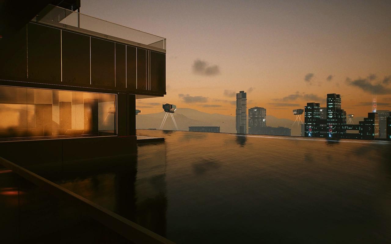 calm, city, and cyberpunk image