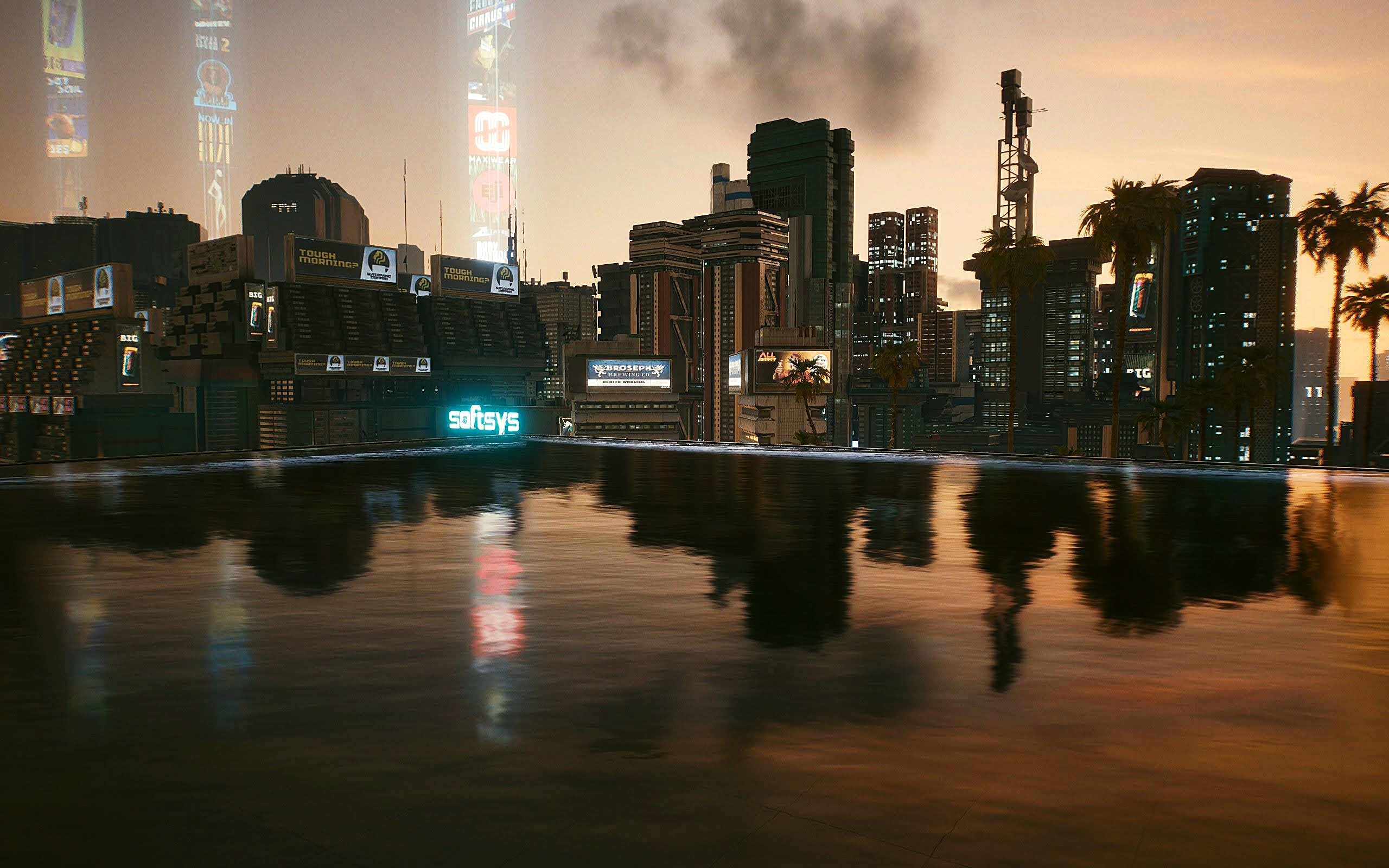 calm, city, and cityscape image