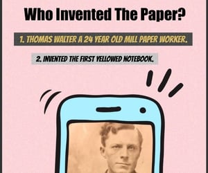 history, inventors, and schoolwork image