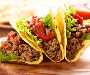 ground bison taco meat image