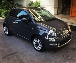 fiat, car, and fiat500 image
