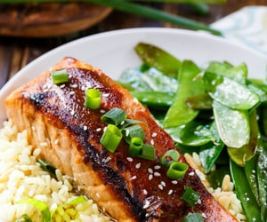 delicious, food porn, and fish image