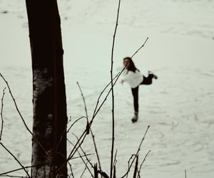dance, frozen, and nature image