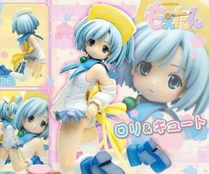 anime, blue, and Figure image