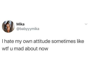 attitude, cool, and funny image