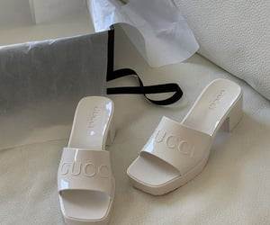 shoes, heels, and gucci image