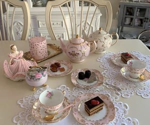 tea party ' pink aesthetic