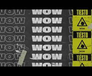 video, wow, and dj tiesto image