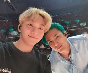 Seungkwan and Mingyu