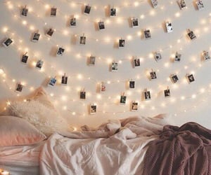 artsy, bed, and girly image