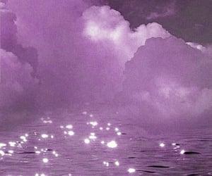 clouds, sky, and purple lockscreen image