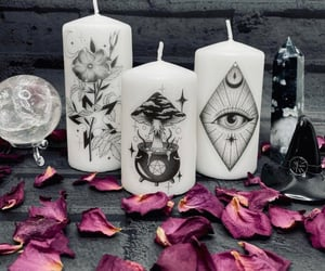 alternative, black, and candles image
