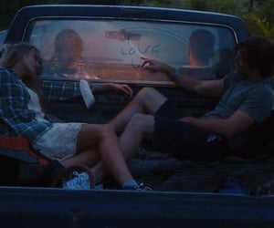 love, grunge, and car image