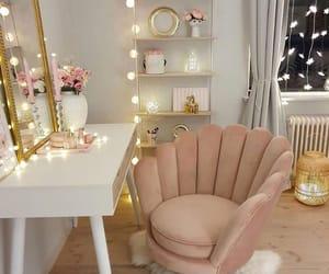 pink, home, and lights image