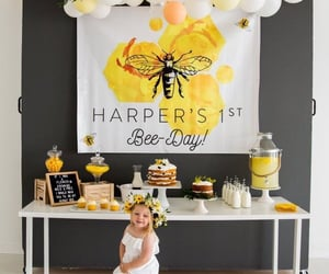 birthday party, decor, and party image