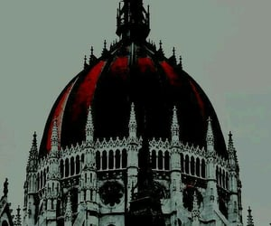 aesthetic, red, and architecture image