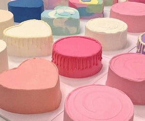 cake, colorful, and pastels image