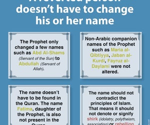 islam, name, and revert image