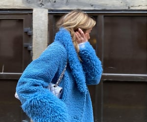 aesthetic, blue, and chanel image