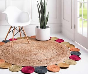etsy, area rugs on sale, and round jute rugs image