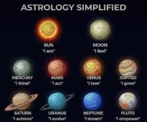 astrology, planet, and quotes image