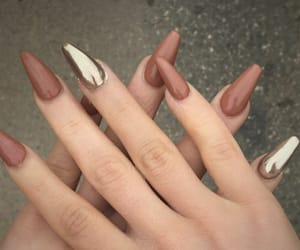 girls, nails, and style image