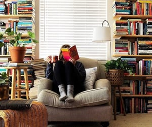 book, books, and libraries image