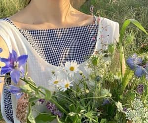 clothes, cottage, and nature image