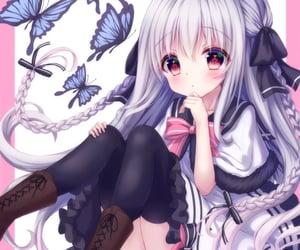 aesthetic, anime girl, and kawaii image