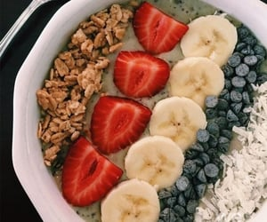food, fitness, and breakfast image
