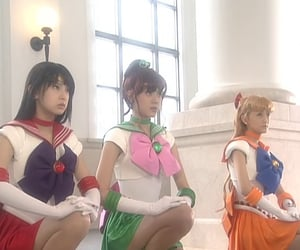 japan, sailor moon, and sailor senshi image