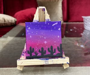 art, pink, and purple image
