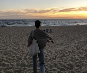 beach, chill, and life image