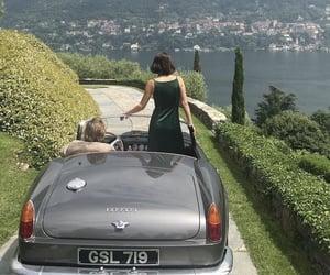 car, sea, and rich image