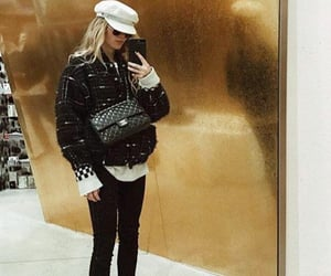 blondie, chanel bag, and cool girl image