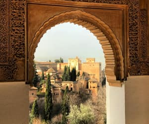 aesthetic, explore, and Alhambra image