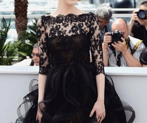 celebrities, fashion, and little black dress image