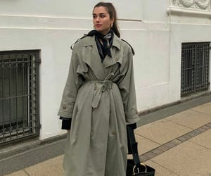 fashion and trench coat image
