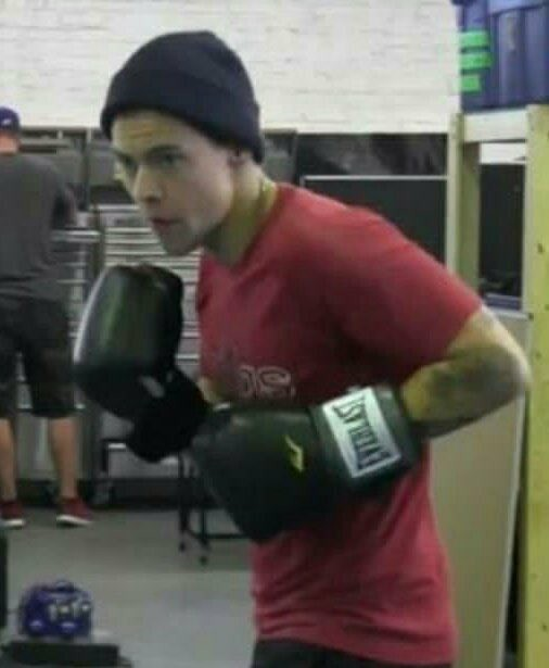 box, boxing, and Harry Styles image